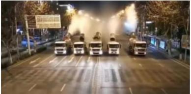 foto canhões caminhão